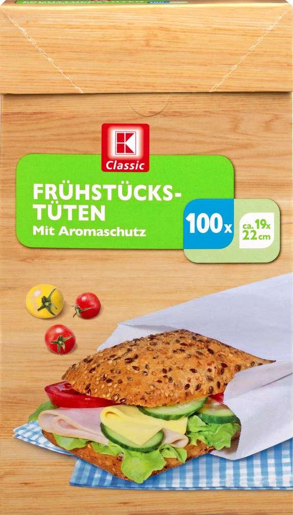 Abbildung des Sortimentsartikels K-Classic Frühstückstüten 100 Stück