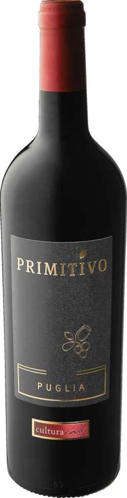 Abbildung des Sortimentsartikels Cultura Vini Primitivo Puglia IGT Italien 0,75l