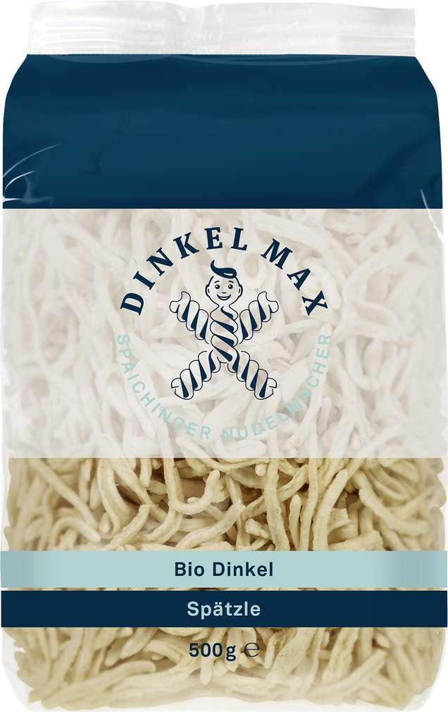 Abbildung des Sortimentsartikels Dinkel Max Bio-Dinkel Spätzle 500g