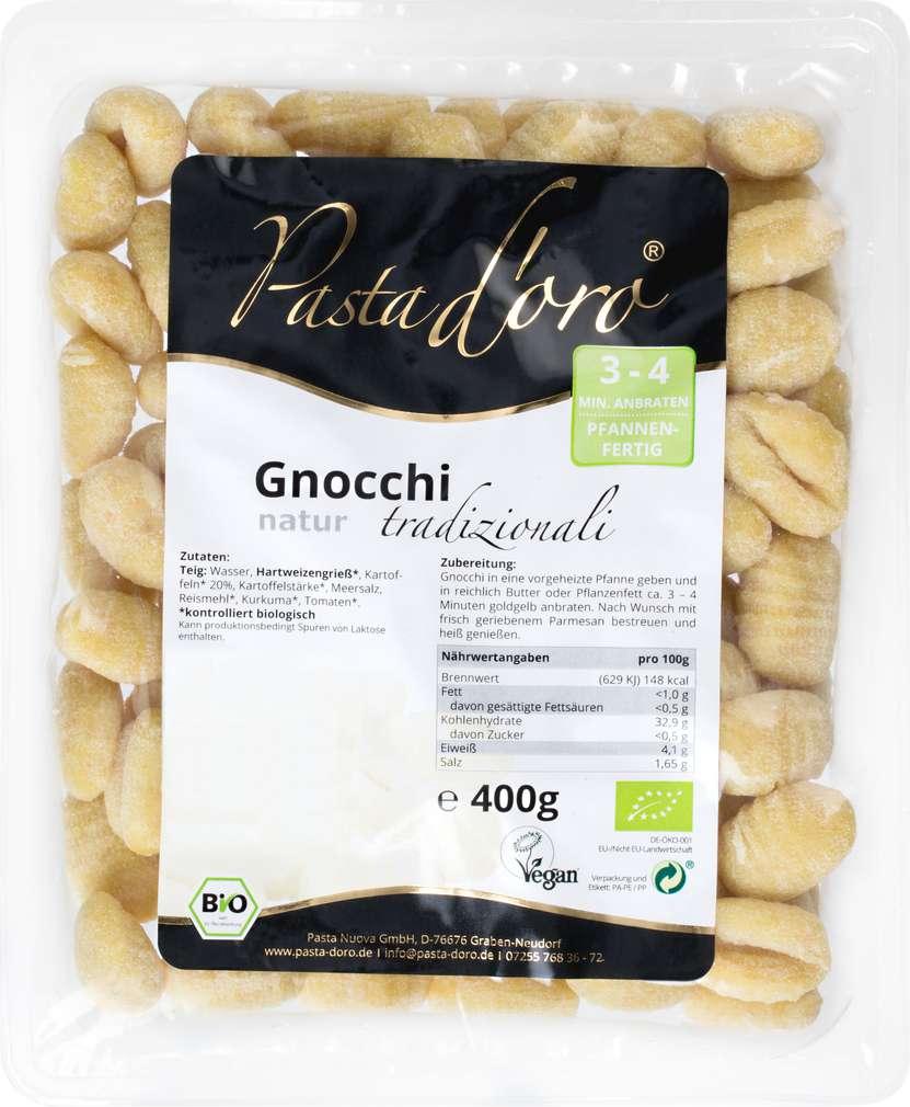 Abbildung des Sortimentsartikels Pasta D'Oro Gnocchi natur 400g