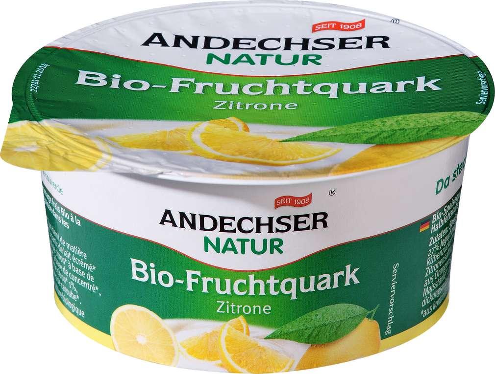 Abbildung des Sortimentsartikels Andechser Natur Bio-Fruchtquark Zitrone 150g