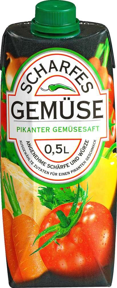 Abbildung des Sortimentsartikels Scharfe Säfte Pikanter Gemüsesaft 0,5l