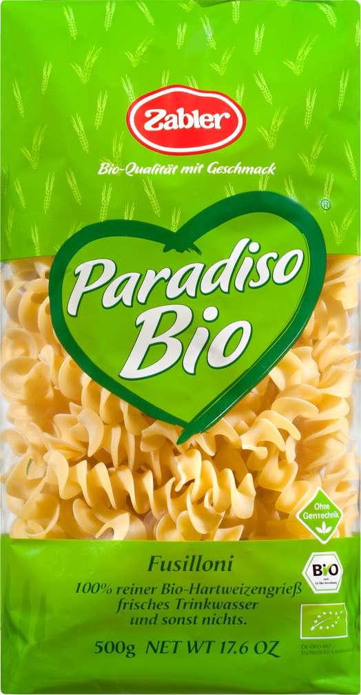 Abbildung des Sortimentsartikels Zabler Paradiso Bio Paradiso Bio Fusilloni 500g