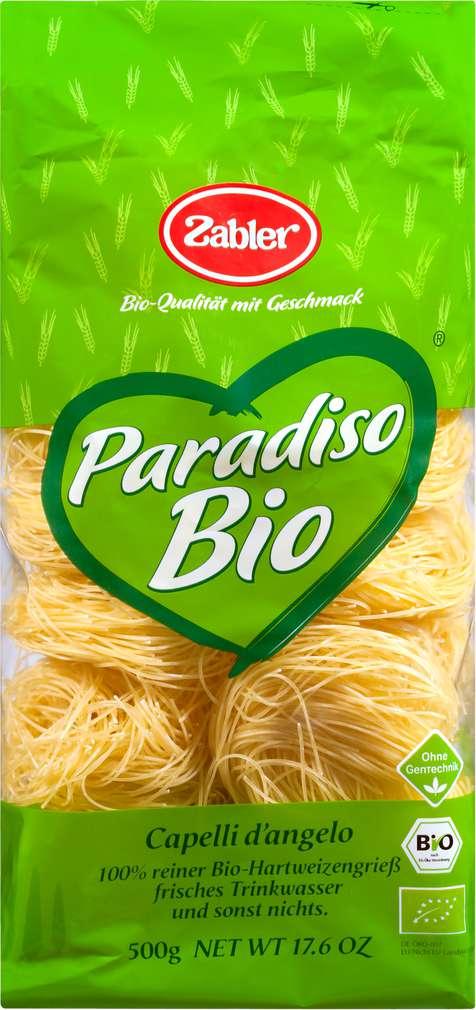 Abbildung des Sortimentsartikels Zabler Paradiso Bio Capelli d'angelo 500g