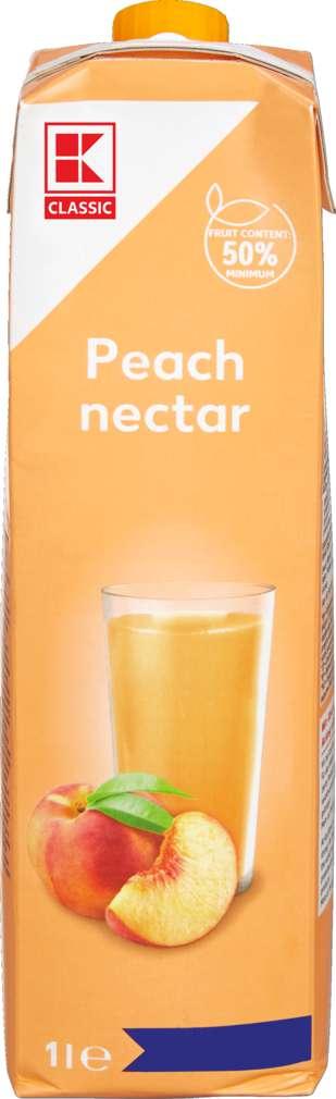 Abbildung des Sortimentsartikels K-Classic Pfirsichnektar 1,0l