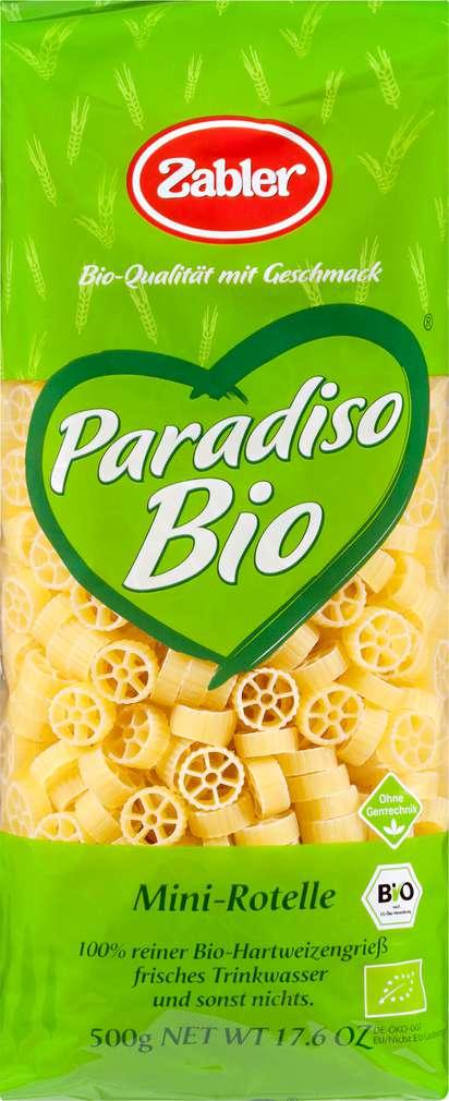 Abbildung des Sortimentsartikels Zabler Paradiso Bio Mini-Rotelle 500g