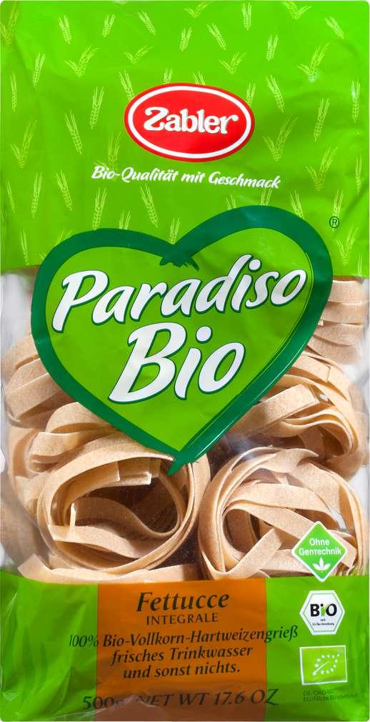 Abbildung des Sortimentsartikels Zabler Paradiso Bio Fettuce Vollkorn 500g