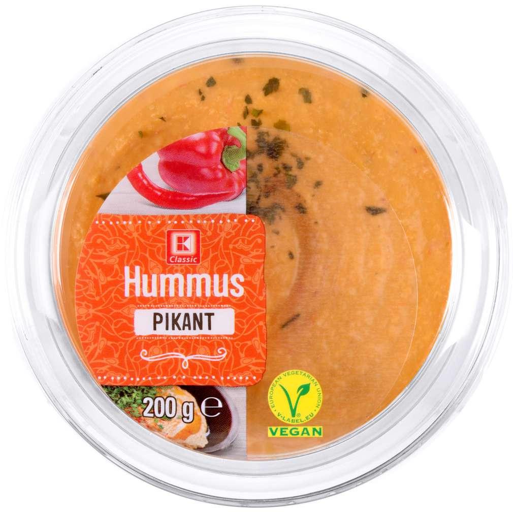 Abbildung des Sortimentsartikels K-Classic Hummus pikant 200g