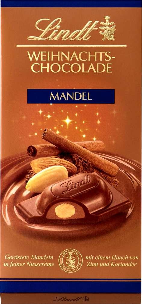 Abbildung des Sortimentsartikels Lindt Weihnachts-Mandeln mit Zimt+Koriander 100g