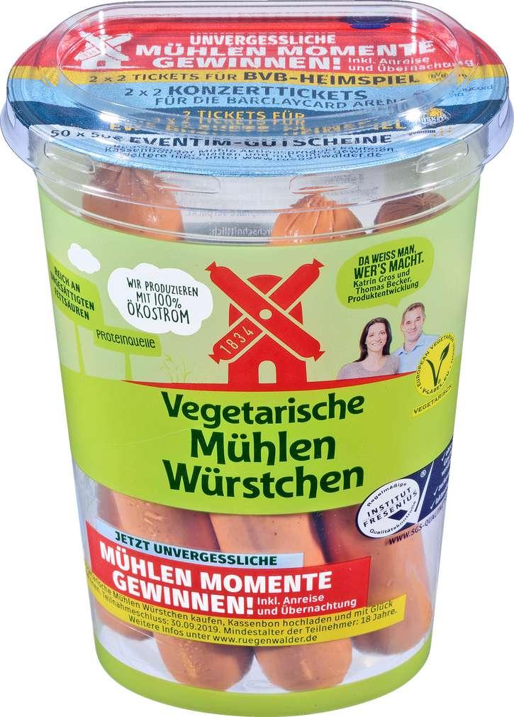 Abbildung des Sortimentsartikels Rügenwalder Mühle Würstchen vegetarisch 200g