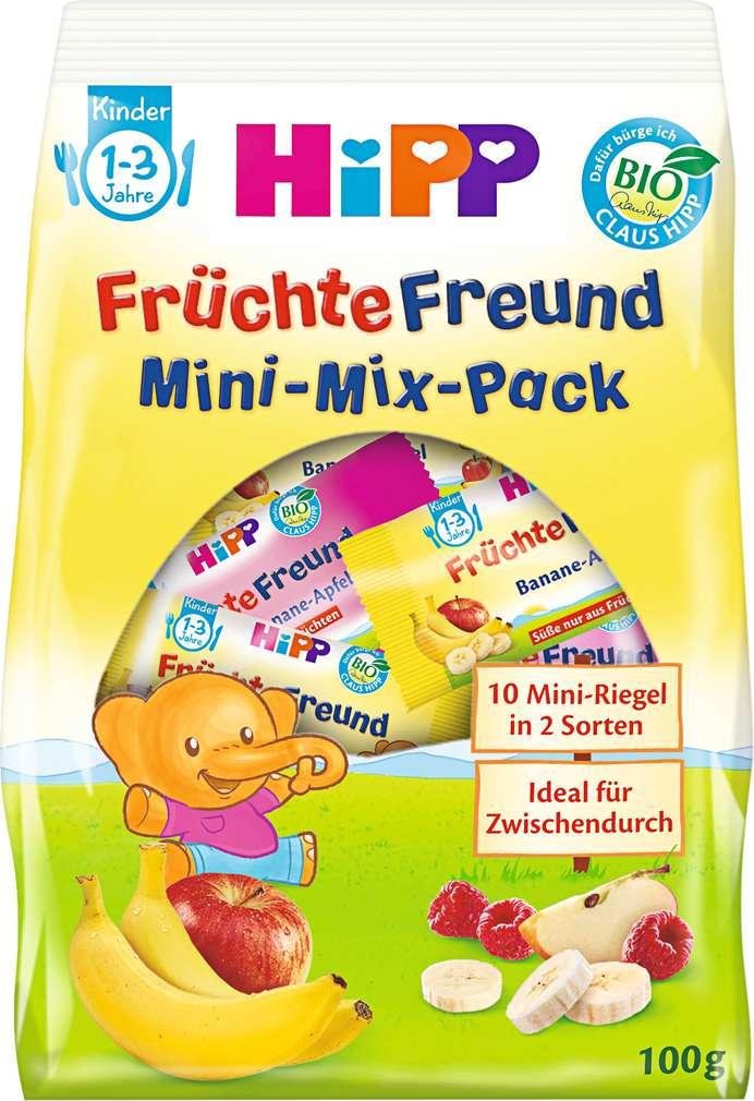 Abbildung des Sortimentsartikels Hipp Früchte-Freund Bio Mini-Mix-Pack 1-3 Jahre 100g