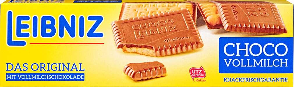 Abbildung des Sortimentsartikels Leibniz Leibniz Choco Vollmilch 125g