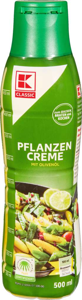 Abbildung des Sortimentsartikels K-Classic Pflanzencreme Olive 500ml
