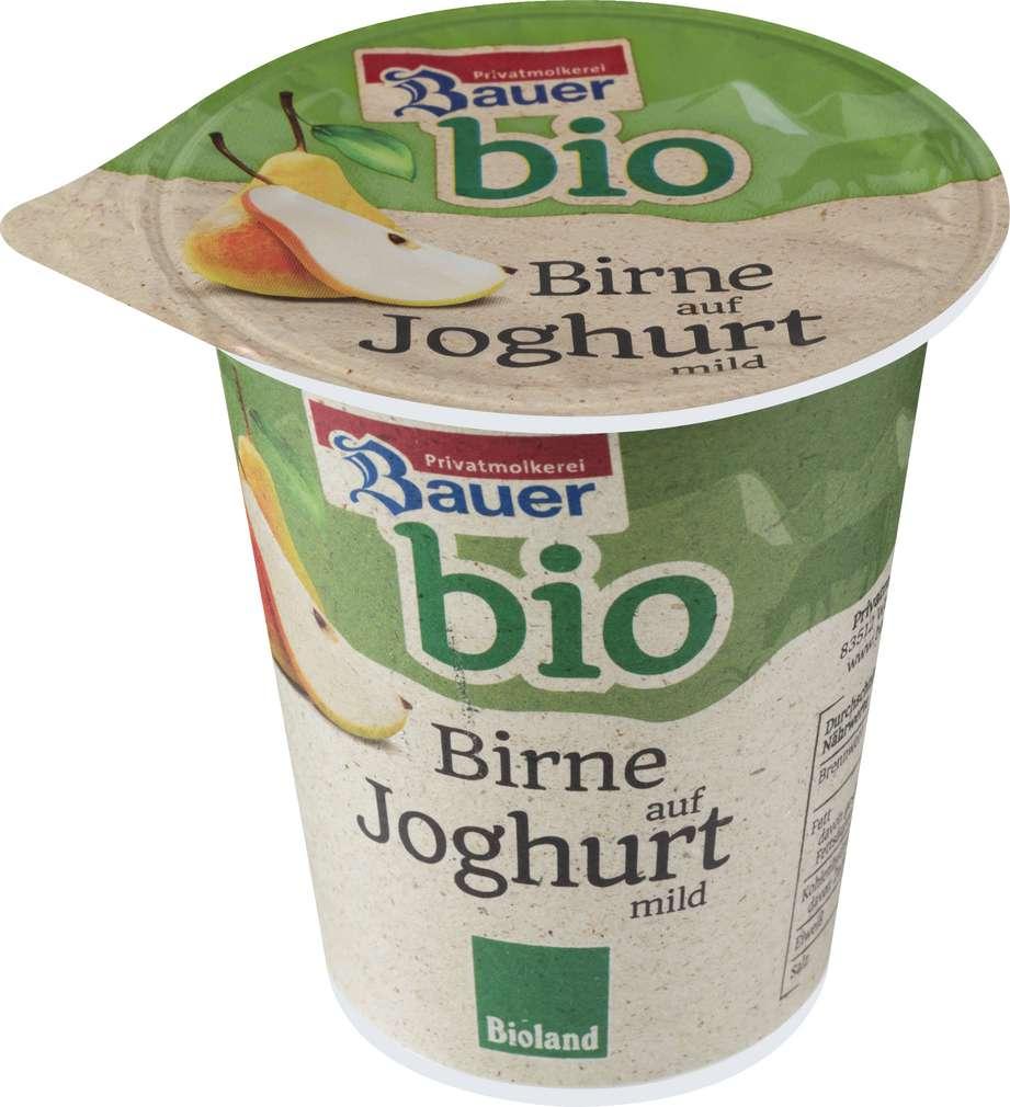 Abbildung des Sortimentsartikels Bauer Bio Fruchtjoghurt Birne 150g