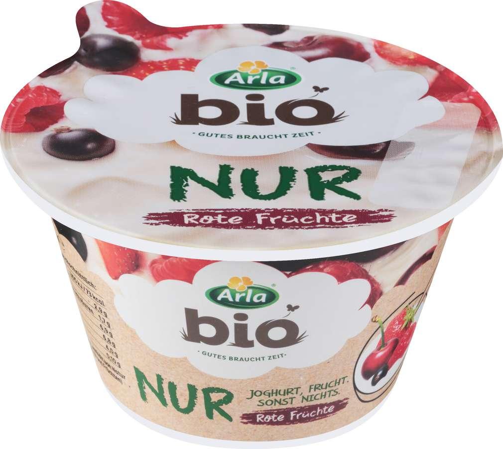 Abbildung des Sortimentsartikels Arla Bio Joghurt Rote Früchte 150g