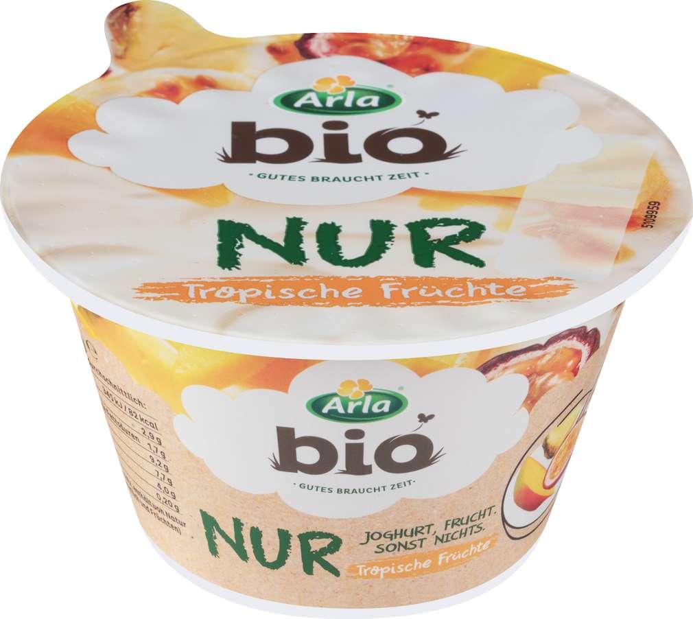Abbildung des Sortimentsartikels Arla Bio Joghurt Tropische Früchte 150g