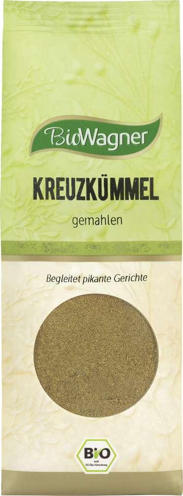 Abbildung des Sortimentsartikels Wagner Bio-Kreuzkümmel gemahlen 55g