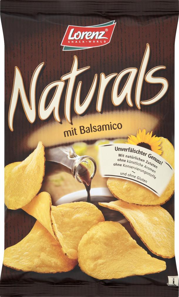 Abbildung des Sortimentsartikels Lorenz Naturals Mit Balsamico 110g