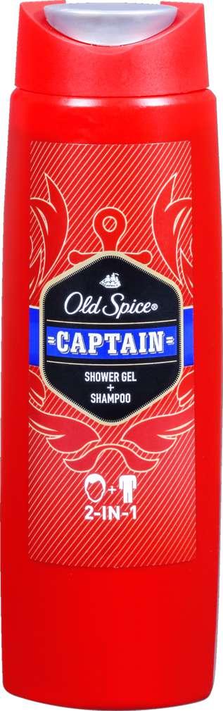 Abbildung des Sortimentsartikels Old Spice Duschgel Captain 250ml