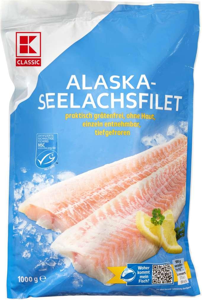 Abbildung des Sortimentsartikels K-Classic MSC Alaska Seelachs natur 1000g