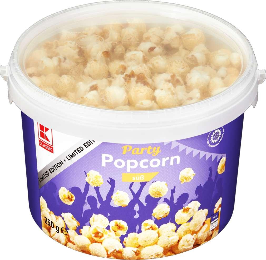 Abbildung des Sortimentsartikels K-Classic Popcorneimer süß 250g