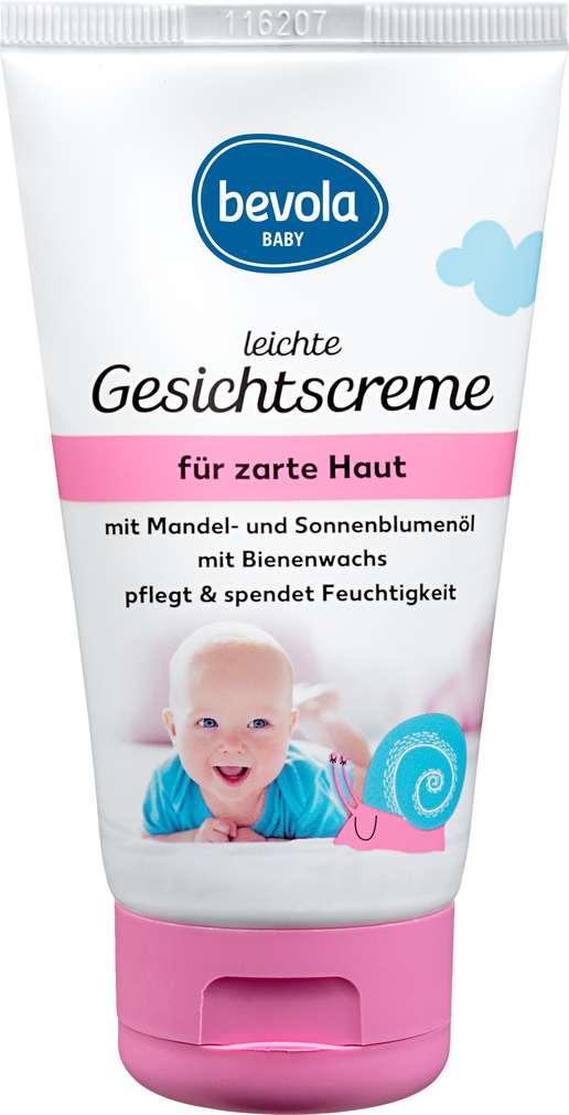 Abbildung des Sortimentsartikels Bevola Baby Gesichtscreme leicht 75ml