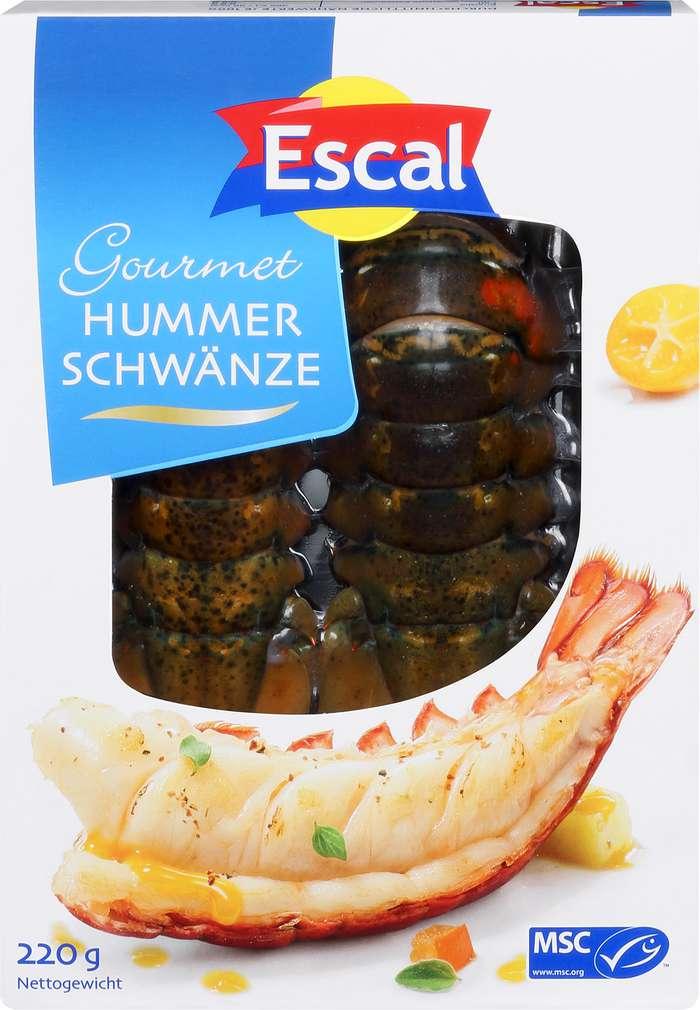 Abbildung des Sortimentsartikels Escal Gourmet Hummerschwänze 220g
