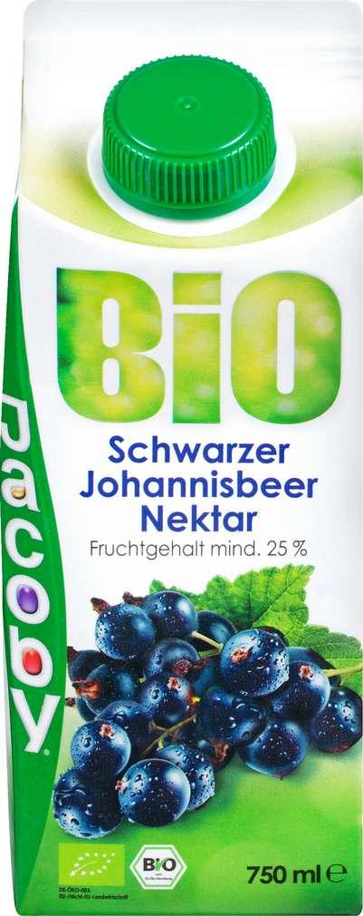 Abbildung des Sortimentsartikels Jacoby Bio Schwarzer Johannisbeer-Nektar 0,75l