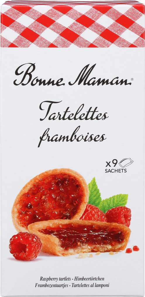 Abbildung des Sortimentsartikels Bonne Maman Tartelettes Framboise 135g