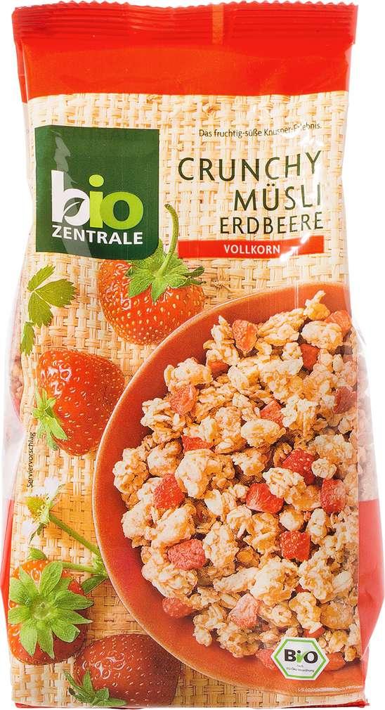 Abbildung des Sortimentsartikels Bio-Zentrale Crunchy Müsli Erdbeere Vollkorn 375g
