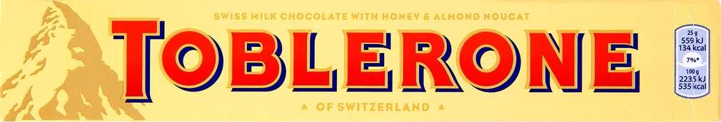 Abbildung des Sortimentsartikels Toblerone 100g