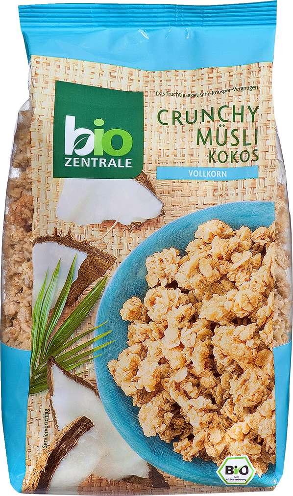 Abbildung des Sortimentsartikels Bio-Zentrale Crunchy Müsli Kokos 375g