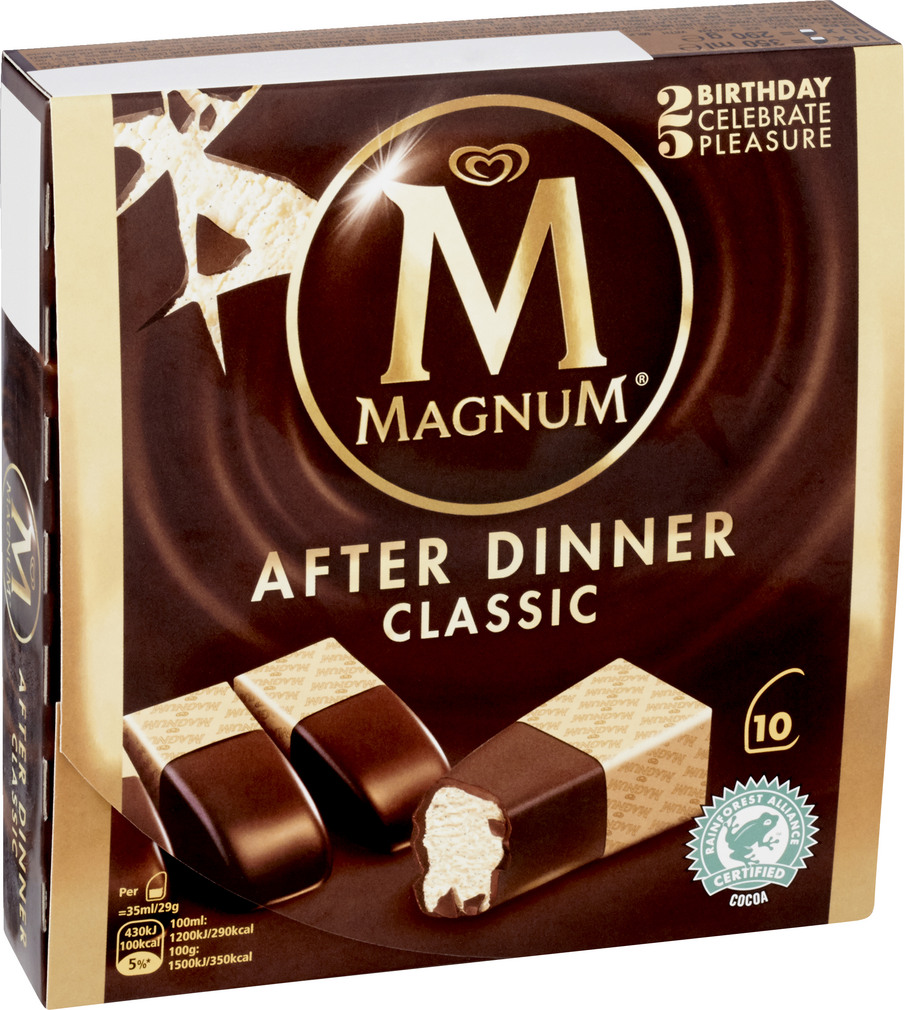 Abbildung des Sortimentsartikels Magnum After Dinner classic 350ml, 10 Stück