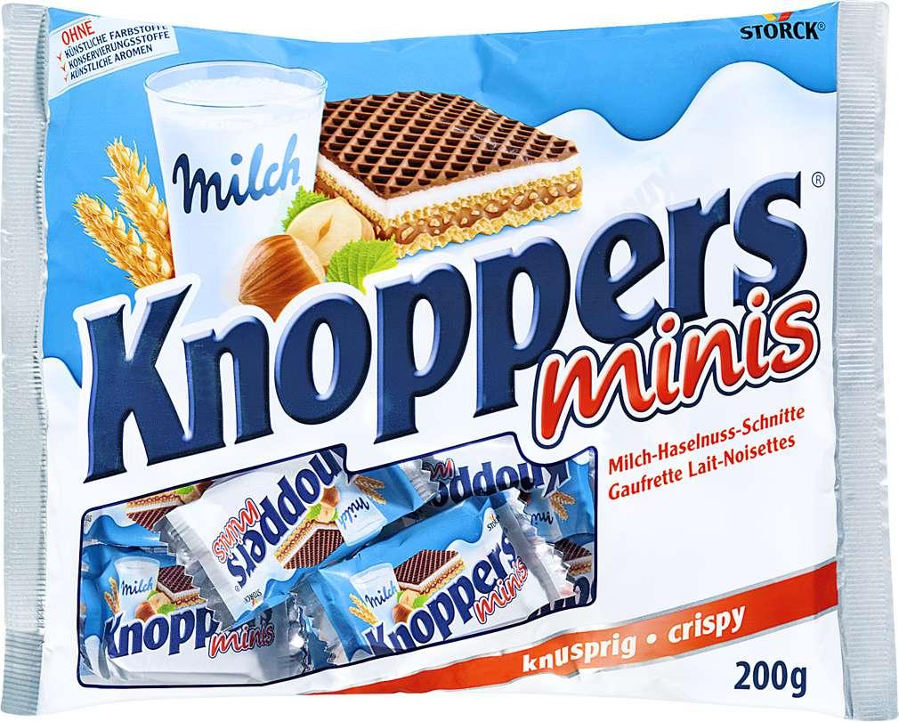 Abbildung des Sortimentsartikels Knoppers Minis 200g