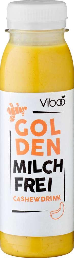 Abbildung des Sortimentsartikels Viboo Vegan Cashewdrink Golden Ingwer, Kurkuma, Zimt 250ml
