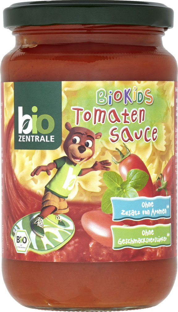 Abbildung des Sortimentsartikels Bio-Zentrale BioKids Tomatensoße 350g