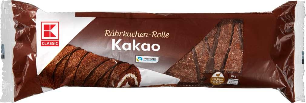 Abbildung des Sortimentsartikels K-Classic Kuchenrolle Kakao 400g
