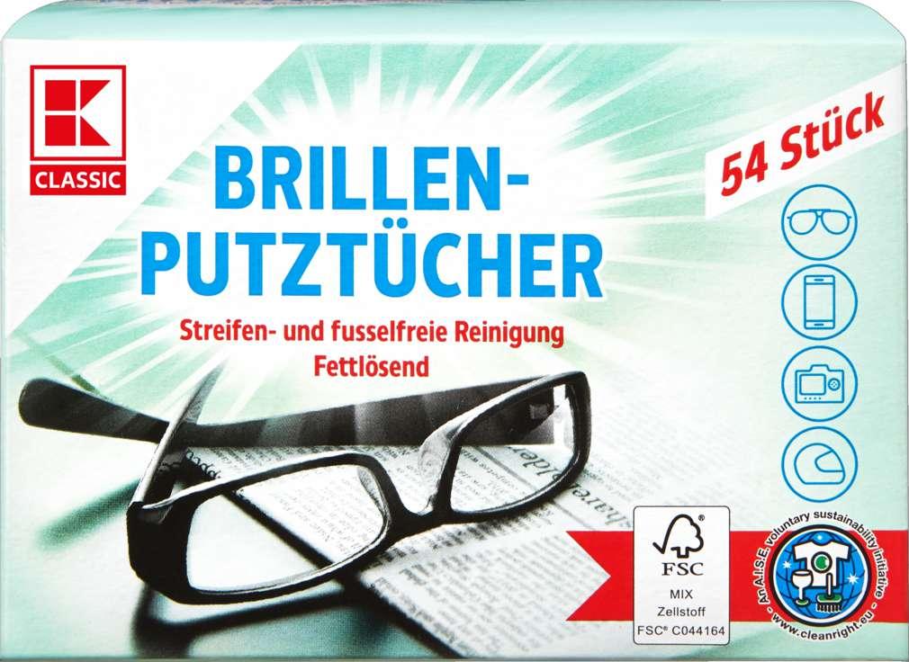 Abbildung des Sortimentsartikels K-Classic Brillenputztücher 54 Stück