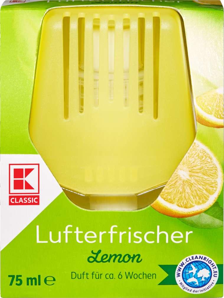 Abbildung des Sortimentsartikels K-Classic Duft-Glasflakon Limone 75ml
