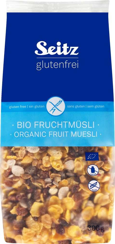 Abbildung des Sortimentsartikels Seitz glutenfrei Bio-Früchtemüsli 300g