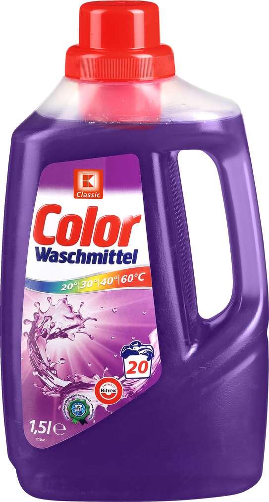 Abbildung des Sortimentsartikels K-Classic Colorwaschmittel 1,5l