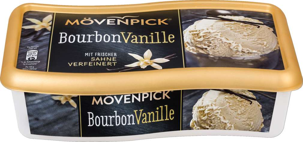 Abbildung des Sortimentsartikels Mövenpick Bourbon-Vanille 900ml