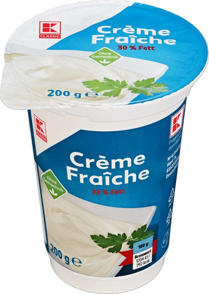 Abbildung des Sortimentsartikels K-Classic Creme Fraiche 30% Fett 200g
