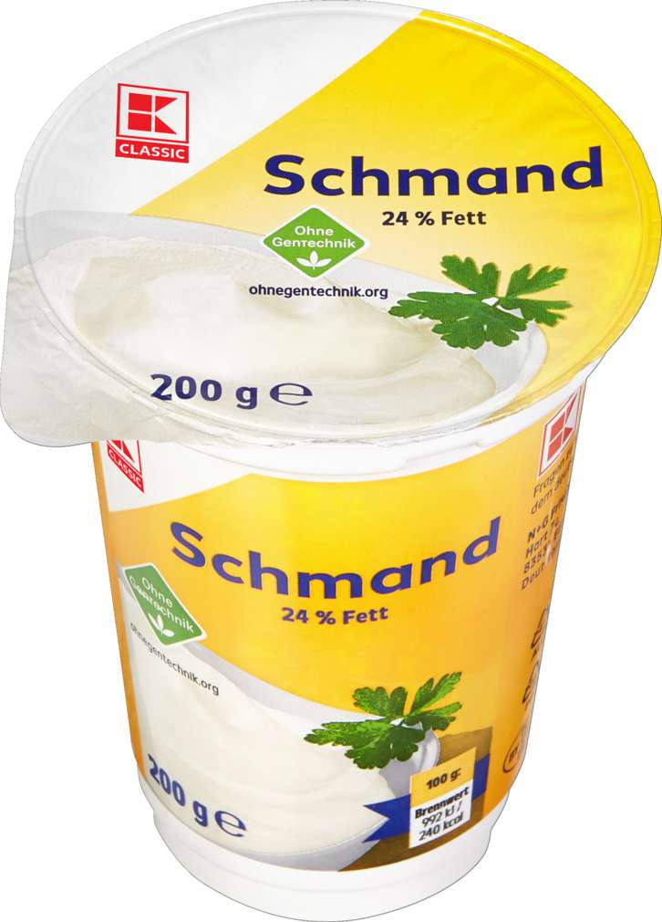 Abbildung des Sortimentsartikels K-Classic H-Schmand 24% Fett 200g