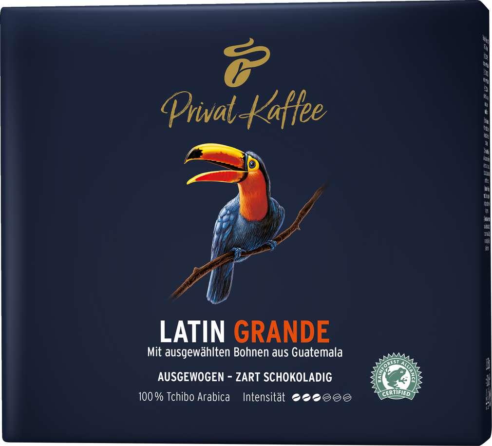 Abbildung des Sortimentsartikels Tchibo Privat Kaffee Guatemala Grande 2x250g