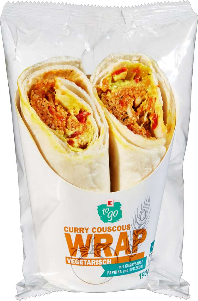 Abbildung des Sortimentsartikels K-To Go Wrap Thai Couscous 190g