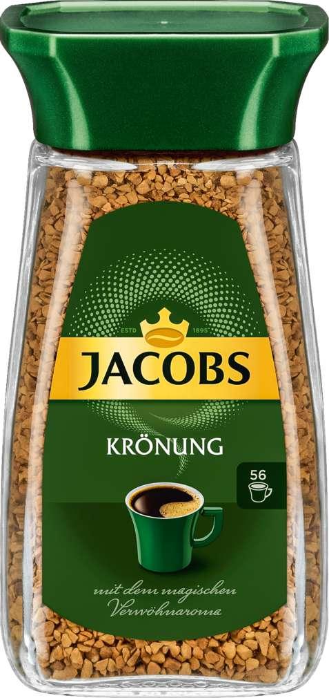 Abbildung des Sortimentsartikels Jacobs Krönung Gold Instant-Kaffee 100g