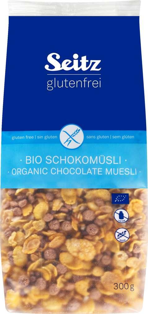 Abbildung des Sortimentsartikels Seitz glutenfrei Bio-Schokomüsli laktosefrei 300g