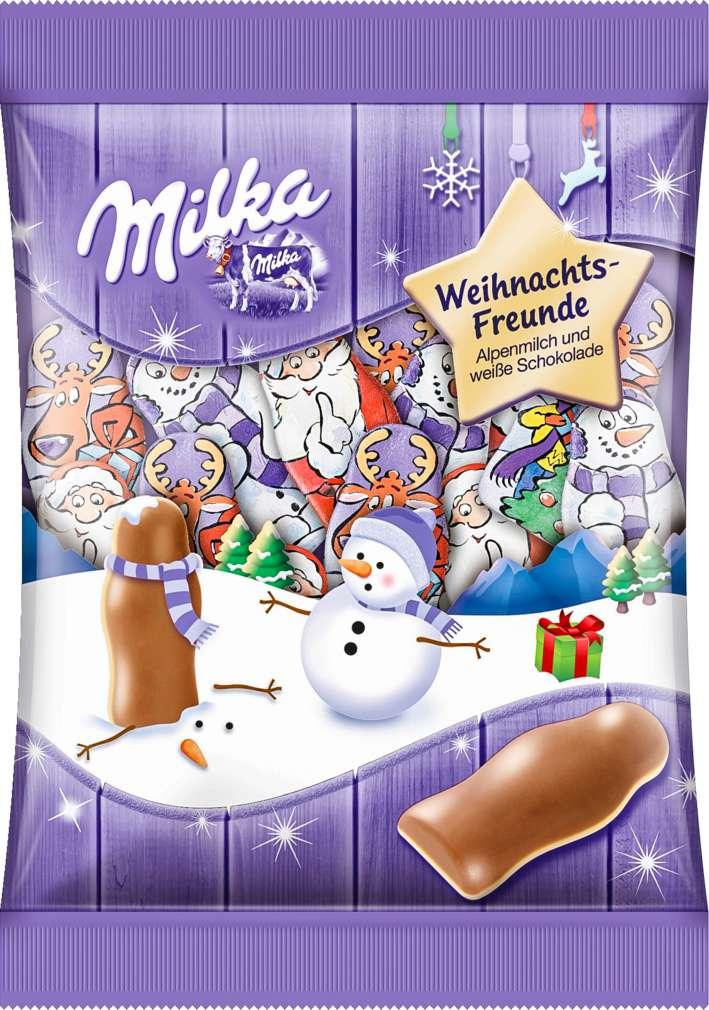 Abbildung des Sortimentsartikels Milka Weihnachts-Freunde 120g