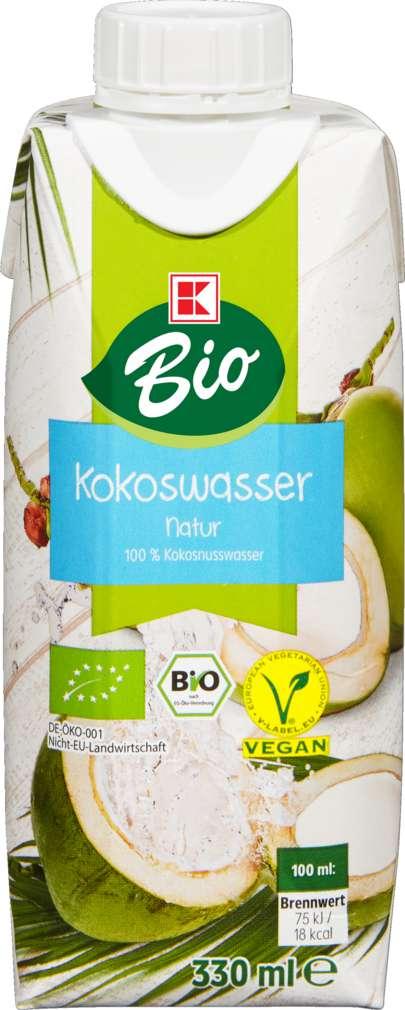 Abbildung des Sortimentsartikels K-Bio Kokosnusswasser 0,33l